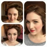 Vintage make-up by Kelli Waldock