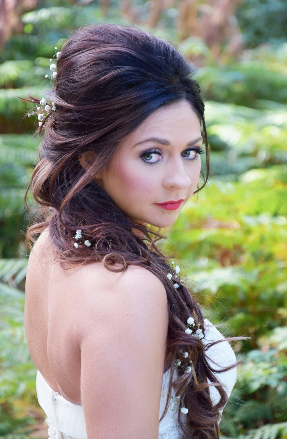 Snw queen bridal makeup kelli waldock kent